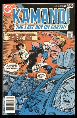 Picture of KAMANDI (1972) #58 9.2 NM-
