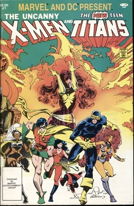 Picture of MARVEL AND DC PRESENT X-MEN AND TITANS #1 8.0 VF