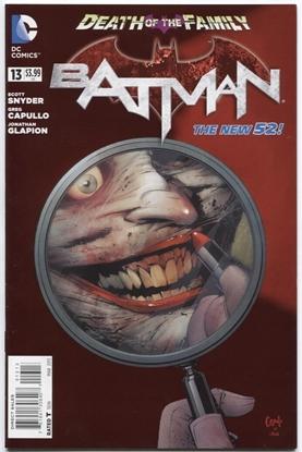 Picture of BATMAN (2011) #13 3RD PRINT CVR 9.0 VF/NM