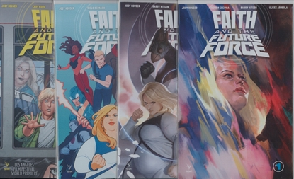 Picture of FAITH AND THE FUTURE FORCE #1-4 CVR A SET