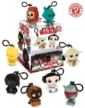 Picture of FUNKO MYSTERY MINI: STAR WARS PLUSHIE KEYCHAINS
