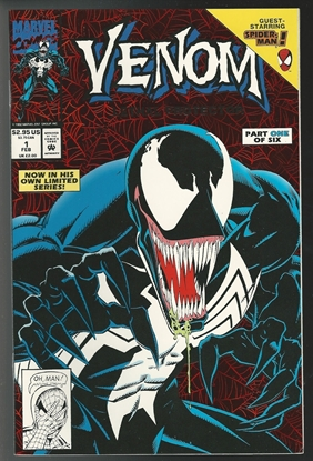 Picture of VENOM LETHAL PROTECTOR (1993) #2 9.2 NM-