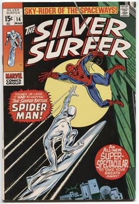 Picture of SILVER SURFER (1968) #14 7.0 FN/VF