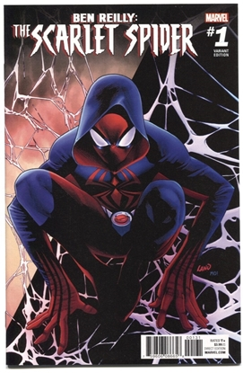Picture of BEN REILLY SCARLET SPIDER #1 LAND VAR
