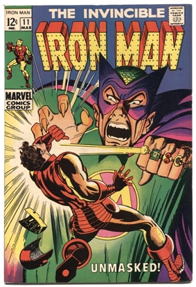 Picture of IRON MAN (1968) #11 8.0 VF