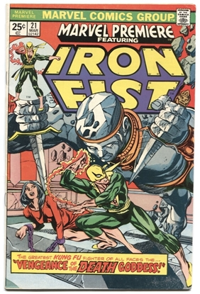 Picture of MARVEL PREMIERE (1972) #21 6.0 FN