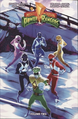 Picture of MIGHTY MORPHIN POWER RANGERS TP VOL 02