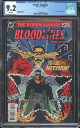 Picture of DEMON ANNUAL #2 CGC 9.2 NM- WP