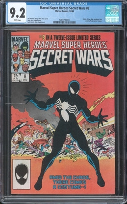 Picture of MARVEL SUPER HEROES SECRET WARS (1984) #8 CGC 9.2 NM-