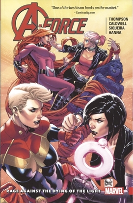 Picture of A-FORCE TPB VOL 2 RAGE AGAINST DYING OF LIGHT