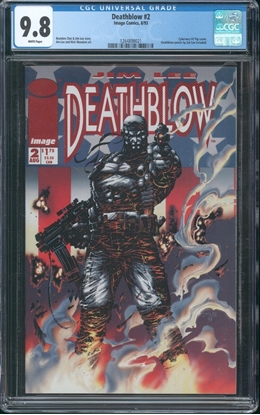 Picture of DEATHBLOW (1993) #2 9.8 NM/MT