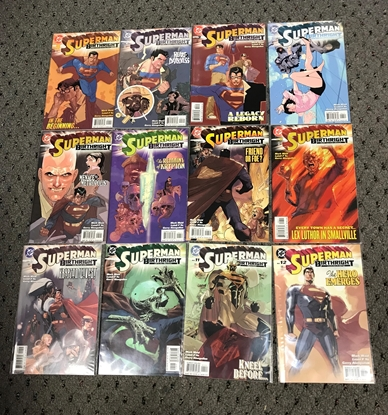 Picture of SUPERMAN BIRTHRIGHT  #1-12 SET