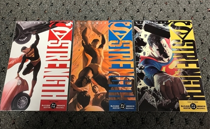 Picture of SUPERMAN STRENGTH (2005) #1-3 SET  NM