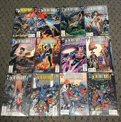 Picture of SUPERMAN & BATMAN GENERATIONS 3 (2003) #1-12 1ST PRINT SET NM