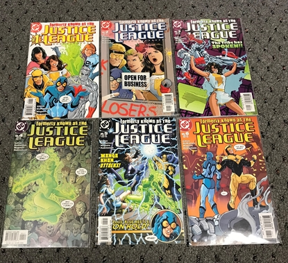 Picture of FORMERLY KNOWN AS THE JUSTICE LEAGUE #1-6 SET NM