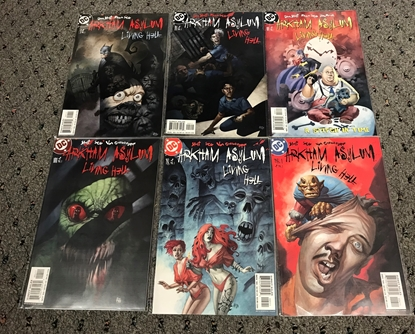 Picture of ARKHAM ASYLUM LIVING HELL #1-6 SET NM