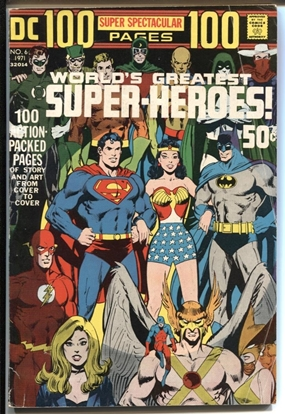 Picture of DC 100 PAGE SUPER SPECTACULAR (1971) #6 5.5 FN-