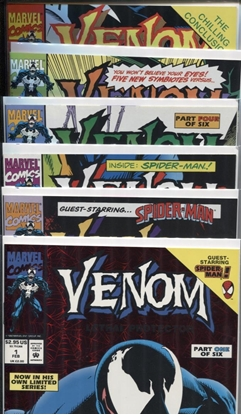 Picture of VENOM LETHAL PROTECTOR #1 2 3 4 5 6 COMPLETE SET  MINI SERIES NM+