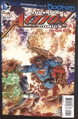 Picture of ACTION COMICS #33