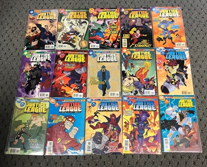 Picture of JUSTICE LEAGUE UNLIMITED  (2004) #1-46 COMPLETE SET