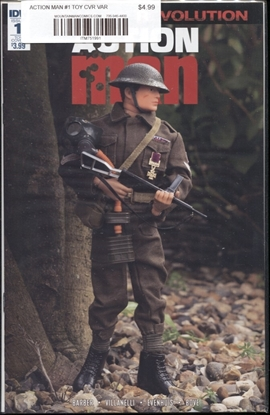 Picture of ACTION MAN #1 ACTION FIGURE VAR