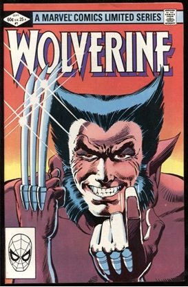 Picture of WOLVERINE LIMITED SERIES (1982) #1 2 3 4 SET 9.2 NM-