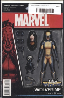Picture of ALL NEW WOLVERINE #1 CHRISTOPHER ACTION FIGURE VAR