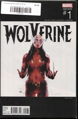 Picture of ALL NEW WOLVERINE #1 GRANT HIP HOP VAR