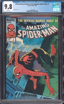 Picture of OFFICIAL MARVEL INDEX TO THE AMAZING SPIDER-MAN (1984) #2 CGC 9.8 NM/MT WP