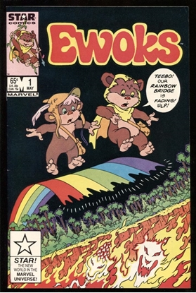Picture of EWOKS (1985) #1 9.0 VF/NM