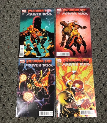 Picture of SHADOWLAND POWER MAN #1-4 1ST PRINT SET VF/NM