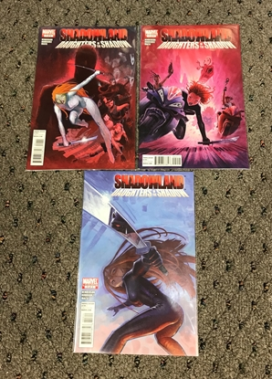 Picture of SHADOWLAND DAUGHTERS OF THE SHADOW #1-3 1ST PRINT SET NM-