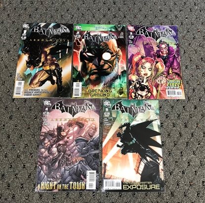 Picture of BATMAN ARKHAM CITY (2011) #1-5 SET