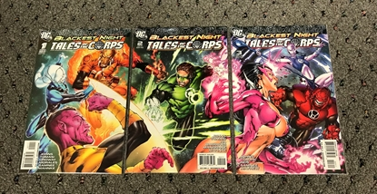 Picture of BLACKEST NIGHT TALES OF THE CORPS #1-3 1ST PRINT SET  NM-