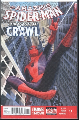 Picture of AMAZING SPIDER-MAN #1.1 LEARNING TO CRAWL