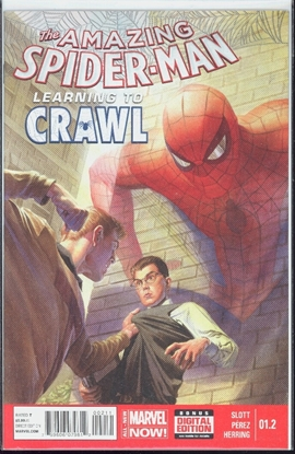 Picture of AMAZING SPIDER-MAN #1.2 LEARNING TO CRAWL