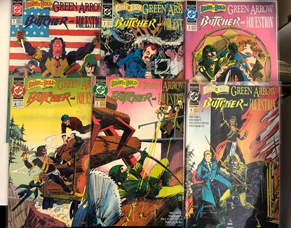 Picture of GREEN ARROW THE BUTCHER AND THE QUESTION #1-6