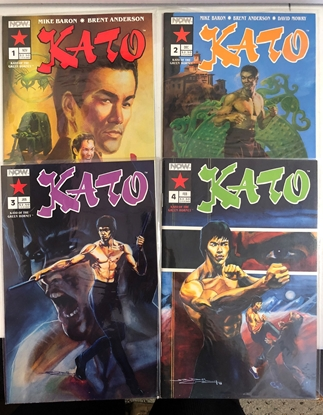 Picture of GREEN HORNET: KATO (1991) #1-4 MINI-SERIES
