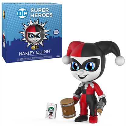 Picture of FUNKO 5 STAR VINYL FIGURE DC SUPER HEROES HARLEY QUINN NEW