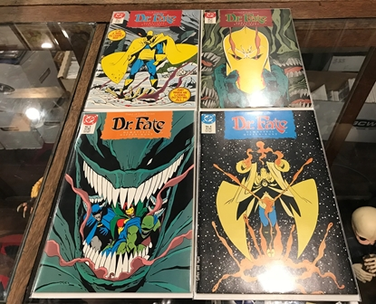 Picture of DR.FATE (1987) #1-4 MINISERIES SET