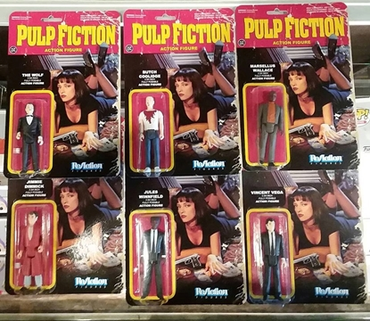 Picture of FUNKO PULP FICTION ReAction 3 3/4 IN FULLY POSSABLE NEW IN BOX FIGURES