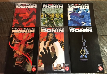 Picture of FRANK MILLERS RONIN (1983) #1-6 SET FN