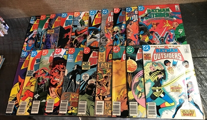 Picture of BATMAN AND THE OUTSIDERS (1983) #1-38 + ANNUAL 1 &2 SET