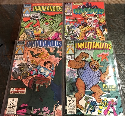 Picture of INHUMANOIDS (1987) #1-4 SET VF