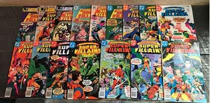 Picture of SECRET SOCIETY OF SUPER VILLAINS (1976) #1-15 + SPECIAL SET VF