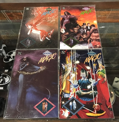 Picture of THE BOOKS OF MAGIC (1990) #1-4 SET