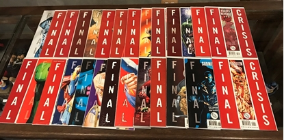 Picture of FINAL CRISIS (2008)  27 BOOK SET VF/NM
