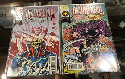 Picture of DEATH'S HEAD & DIE CUT II  #1 &2 SET VF/NM