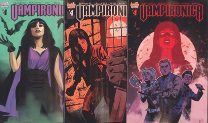 Picture of VAMPIRONICA #4 CVR A B C 3 COVER SET VF/NM