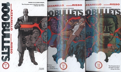 Picture of 100 BULLETS VOL BOOK 1 2 3 4 5 TPB SET